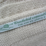 fabric woven clothing labels