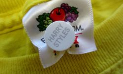 Laundry name labels for clothing